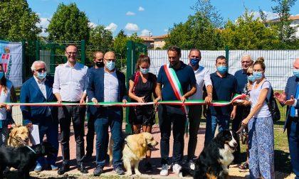 Parco Uccio, inaugurata la nuova area sgambatura cani