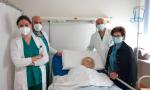 Operata con successo a 99 anni per una peritonite: oggi Agatina torna a casa