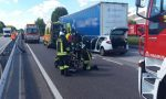 Treviso Mare, auto contro bilico: due feriti gravi estratti dalle lamiere