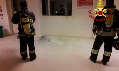 Principio d'incendio in Chirurgia al Ca' Foncello, intervengono i Vigili del fuoco