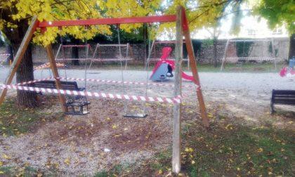 Giostrine vietate ai bambini nelle aree verdi di Montebelluna: si attende la sanificazione