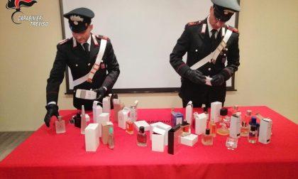 Flaconi di profumi con marchi contraffatti, denunciato 49enne a San Zenone degli Ezzelini