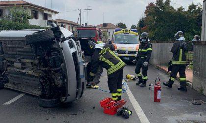 Incidente a Treviso: una donna ferita è stata trasportata all'ospedale