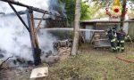 Incendio baracca a Roncade, sul posto i Vigili del fuoco