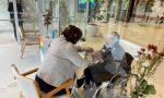 """Visite al Centro servizi Sartor, ecco i nuovi spazi e le postazioni """"speciali per gli abbracci"""" – FOTO"""