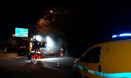 Statale 13 Pontebbana tra Mogliano e Orsago, avviato il ripristino della pavimentazione stradale