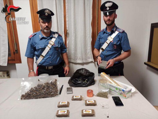 """Pusher a """"chilometro zero"""", vendeva droga al dettaglio tra Istrana e Vedelago: 19enne in carcere"""