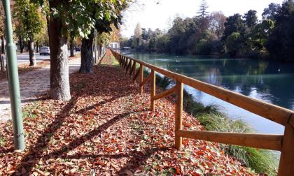 """""""Progetto Restera"""" a Treviso: riqualificati pontili, staccionate e panchine lungo via Alzaia del Sile"""
