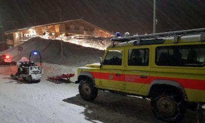 Intrappolati dalla neve in montagna, salvati nove ospiti di un residence: anche un trevigiano - FOTO