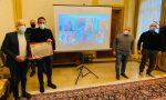 Una pergamena per i 70 anni di fondazione del Circolo Dipendenti del Comune di Treviso