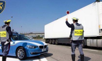 Polizia stradale di Treviso, controlli nel fine settimana: rintracciato un latitante
