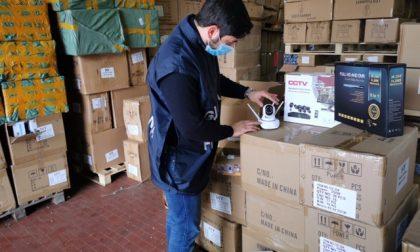 Sequestrati oltre 680mila prodotti cinesi pericolosi tra cui dispositivi medici, 31 denunce