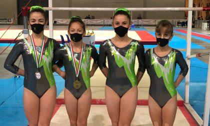 Grandi successi per la la Valdogym ai campionati Italiani Silver e Gold di ginnastica artistica