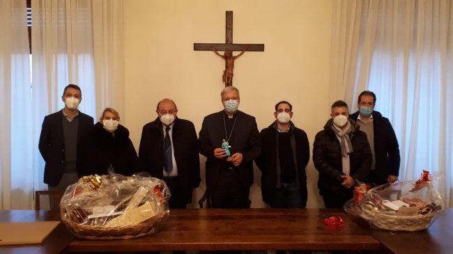 L'infermiera anti Covid nuovo personaggio del Presepe 2020 a Treviso