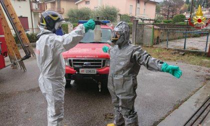 Malato Covid conclamato soccorso dai Vigili del fuoco a Conegliano