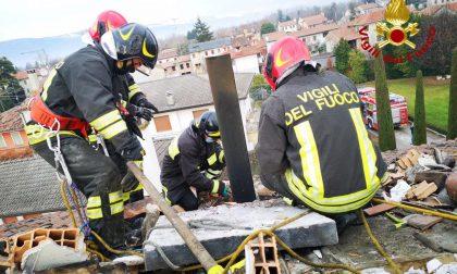 Canna fumaria difettosa, incendi domati dai Vigili del fuoco a Fontanelle e Codognè