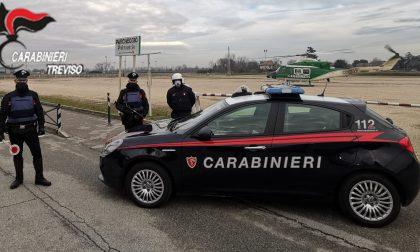 Allarme furti nella Marca: controlli a tappeto dei Carabinieri di Treviso, anche con supporto aereo – FOTO