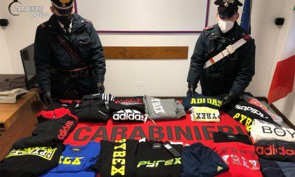Furti di capi griffati a Maser, il bottino da 3 mila euro recuperato a Castelfranco