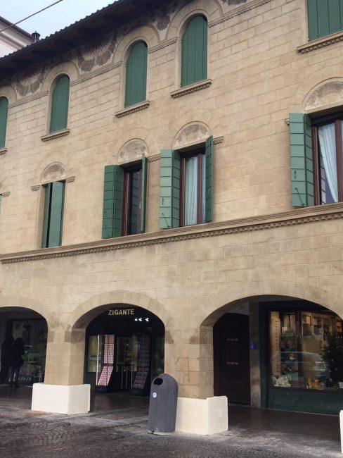 Palazzo La Corte: restaurata la facciata liberty