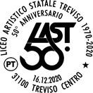 Poste Italiane: timbro per i cinquant'anni del Liceo Artistico di Treviso