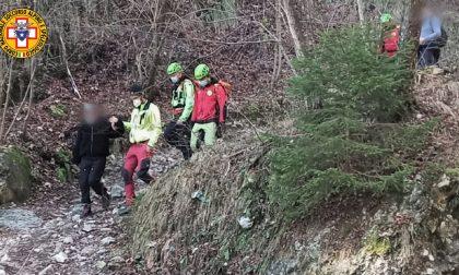 Monte Grappa, escursionista si sente male lungo il sentiero: recuperata dal Soccorso alpino