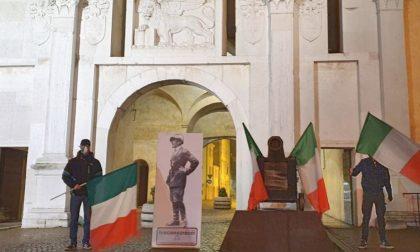 Casa Pound mette D'Annunzio in piazza San Carlo per… disobbedire
