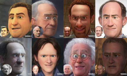 Personaggi famosi di Treviso: come sarebbero in versione cartoon