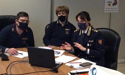 Riprendono gli incontri con gli studenti: didattica a distanza anche per la Polizia