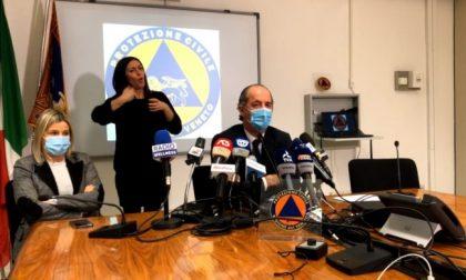 """Covid, Zaia assicura: """"Con AstraZeneca tutti vaccinati entro giugno   + 2076 positivi   Dati del 14 gennaio 2021"""