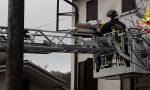 Persona soccorsa in casa a Vidor: arrivano i Vigili del fuoco con l'autoscala