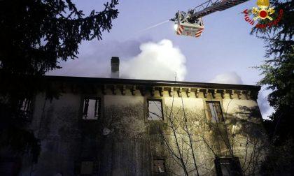 Incendio a Godega in una casa colonica disabitata – Gallery