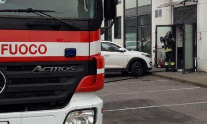 """Incendio al """"Salotto Mondano"""" di Castelfranco, prende fuoco la friggitrice: fiamme domate dai pompieri"""