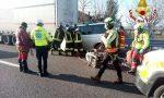 Tragedia in A27, tremendo tamponamento tra due veicoli: morto un 72enne