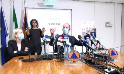 """Covid, Zaia: """"Curva finalmente in discesa""""   +957 positivi   Dati 19 gennaio 2021"""
