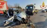 Le impressionanti foto del tremendo incidente di Villorba: 69enne in gravi condizioni