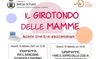 Il Girotondo delle Mamme: a Breda di Piave ripartono gli incontri tematici in videoconferenza
