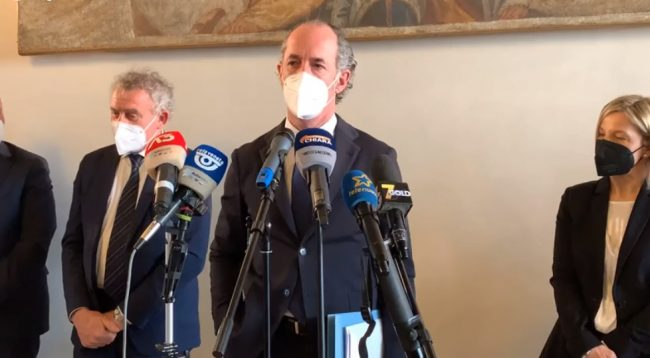 Sanità Veneto, Zaia presenta i nuovi direttori generali: Benazzi riconfermato a Treviso