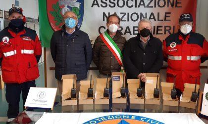Il dono dei pensionati Confartigianato Anap all'Associazione nazionale Carabinieri di Caerano