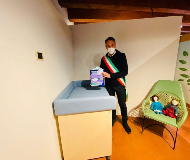 """Le foto del nuovo """"Baby Pit Stop"""" inaugurato ai Musei Civici"""