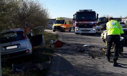 Incidente a San Zenone degli Ezzelini, scontro tra due auto: tre feriti