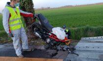 La vita del giovane Angelo spezzata in un tragico incidente in moto