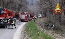 Incidente a Valdobbiadene, fuori strada con l'auto: un ferito
