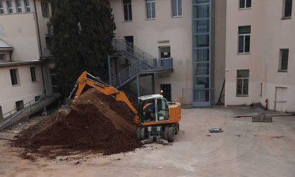 Succursale del liceo Veronese, finalmente riprendono i lavori
