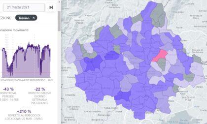 Altro che zona rossa: nella Marca trevigiana movimenti su del 210% rispetto al 2020