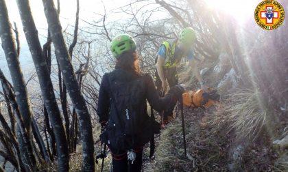 Escursionista di Montebelluna in difficoltà nel Bellunese: interviene il Soccorso alpino