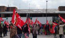 Aeroporto Canova, video e foto del presidio dei lavoratori per chiedere certezze sul futuro