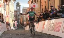 Sulle Strade Bianche di Romagna fuga e vittoria per Alex Tolio