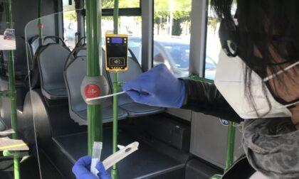 Anche i bus fanno i tamponi nella Marca: primi risultati tutti negativi