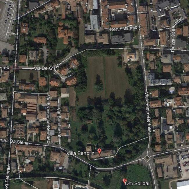 Parco Bertolini: l'ok della giunta per la riqualificazione. Diventerà l'oasi dei montebellunesi
