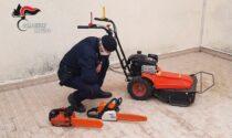 Attrezzi da lavoro rubati a Pieve del Grappa, denunciato un 25enne di Borso